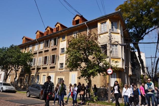 Visita da Univates ao Distrito C & 4º Distrito | Vila Flores